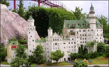 Neuschwanstein in Legoland