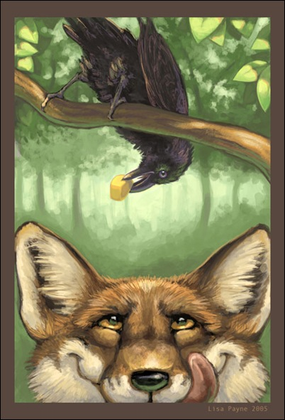 The_Fox_and_the_Crow_by_blindedangel
