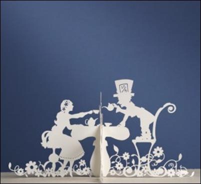 Alice papercuts