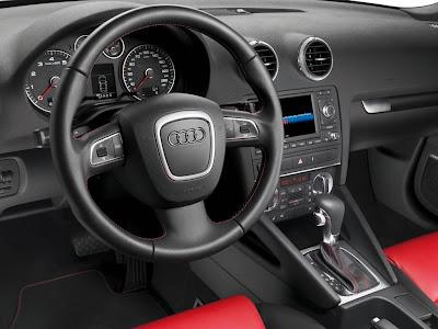 Audi A3 2009 Interior View
