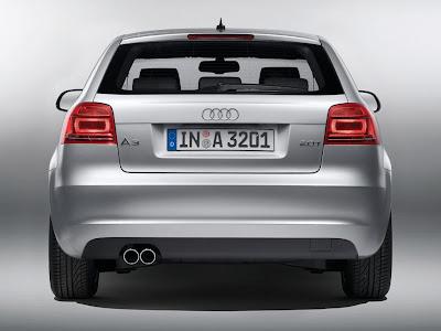 Audi A3 2009 Rear View