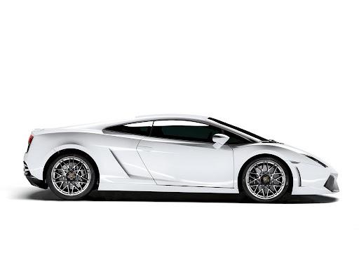 Lamborghini Gallardo LP560-4 Side View