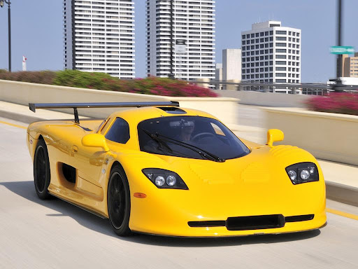 Mosler MT900 GTR XX Front to Right View