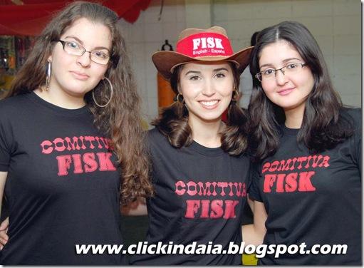 Nicole, Isadora e Camila: equipe Fisk no Brazilian (Crédito: Fábio Alexandre)