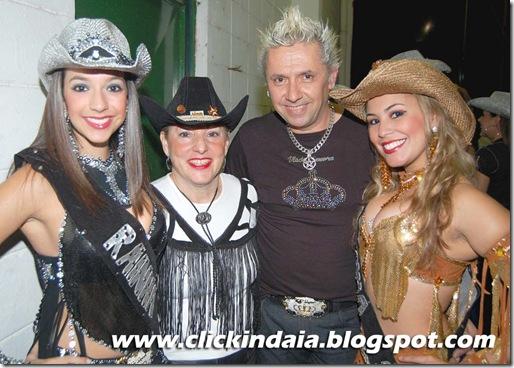Carina, Vania, Wlad e Mariana (Crédito: Fábio Alexandre)