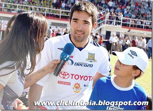 Deco em entrevista ao Programa Amaury Jr. (Crédito: Fábio Alexandre)