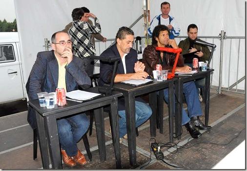 Os jurados do Festival Sertanejo (Crédito: Eliandro Figueira/ACS-PMI)
