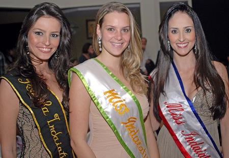 Bruna Araújo, Miss 2002, Ana Carolina Ambrust, Miss 2006 e Gabriela Tavares, Miss 2009 (Crédito: Fábio Alexandre)