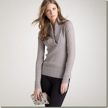 J Crew Dolce Shawl Collar Sweater