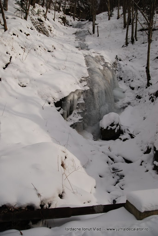 alta cascada de gheata