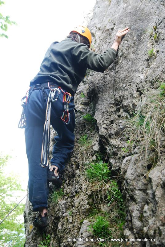 Cap de coarda pe traseul Fisurile Paralele