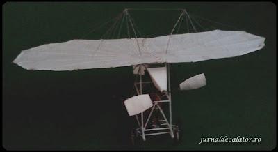 Macheta avion Traian Vuia