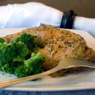 Herb Roasted Chicken Leg Quarters