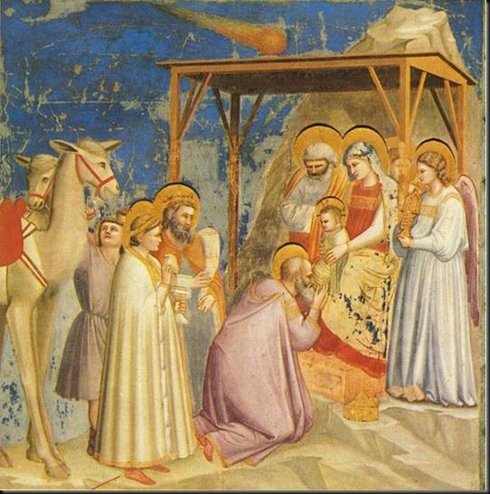 Giotto    171 La adoraci  243 n de los Reyes Magos  187    Pintor  escultor y    Giotto Di Bondone Frescoes