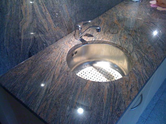 arbeitsplatte platte k che paradiso granitplatte sp le ebay. Black Bedroom Furniture Sets. Home Design Ideas