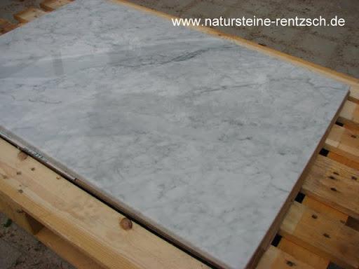 Tischplatte marmor carrara weiss funkenschutzplatte for Marmor tischplatte oval