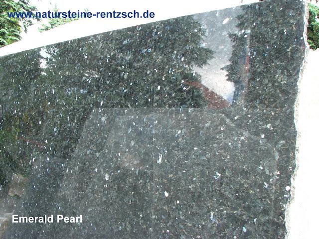 Granitplatte gartentisch 180 90 esstisch emerald pearl for Couchtische granit marmor