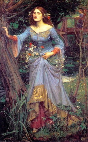 Waterhouse - Ophelia 3