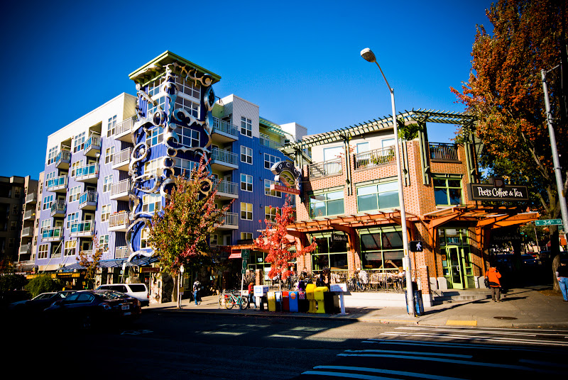 Fremont -- kolorowa dzielnica Seattle
