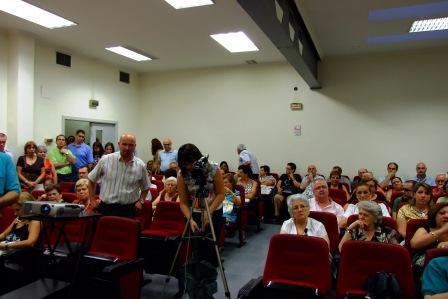 Público asistente, presentación DVD Programas de Fiestas de Bailén