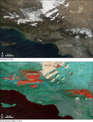 加利福尼亚雪灾-2008年1月