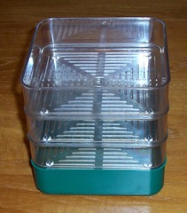 Sprouting seed trays