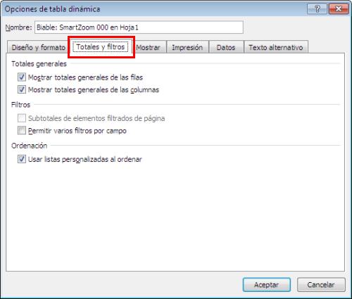 "Activar o desactivar ""Total general"" en una tabla dinámica_imagen3"