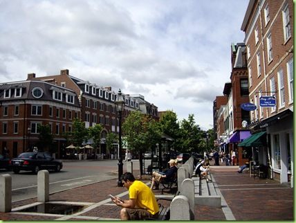 Downtown Portsmouth - Market Square