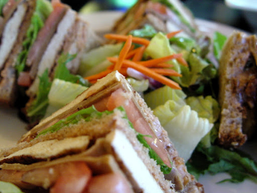 Tofu Club Sandwich