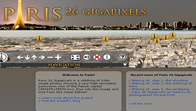 Paris 26 Gigapixels - Interactive virtual tour of the most beautiful monuments of Paris_1268765506945