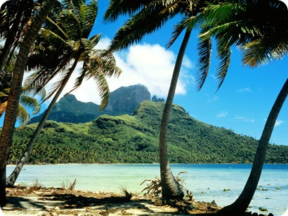 Otemanu Peak, Bora Bora, French Polynesia