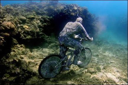 bici sub apa