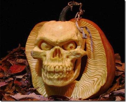 sculptura Halloween