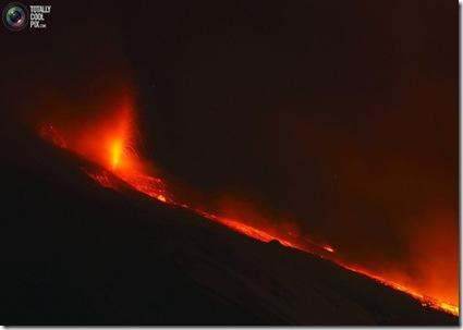 etna erupe