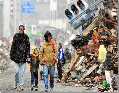 japonia dupa cutremur