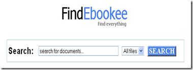 findebookee - motor de cautare