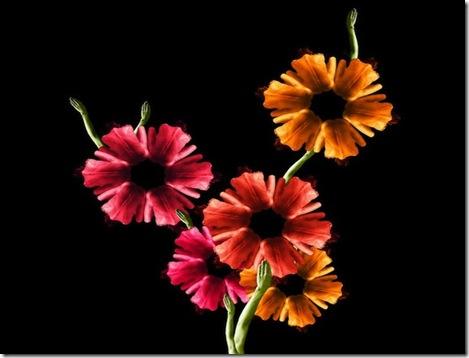 flori umane