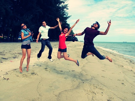 beach jumpshot