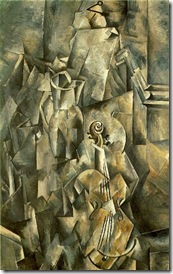 Braque Violing and Pitcher 1910