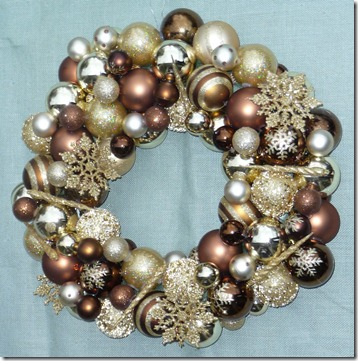 Bronze & Gold Wreath