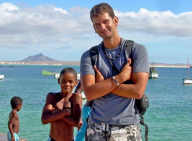 Alex en Salrei Cabo Verde