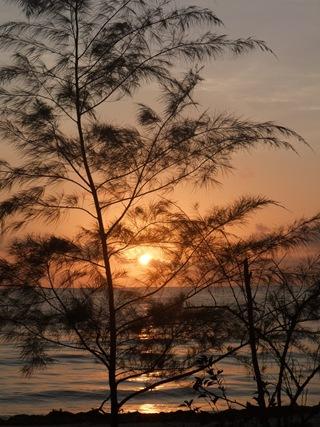 Soloppgang på Zanzibar