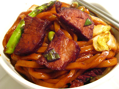Kitchen Slave: Saucy Sesame Udon Noodles
