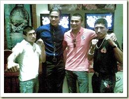 El Loquito, El Barretas, Aron y La Cobra