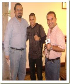 J.C. Gutierrez, Elio Rojas y Mario Peniche