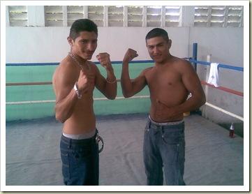 Ramón -Cobra- Maas y Juan -Loquito- Kantún