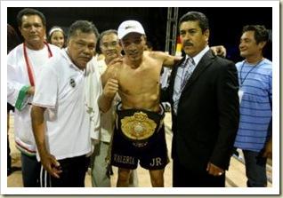 Silverio Ortiz Campeón IBA 05