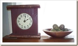 clock quail eggs