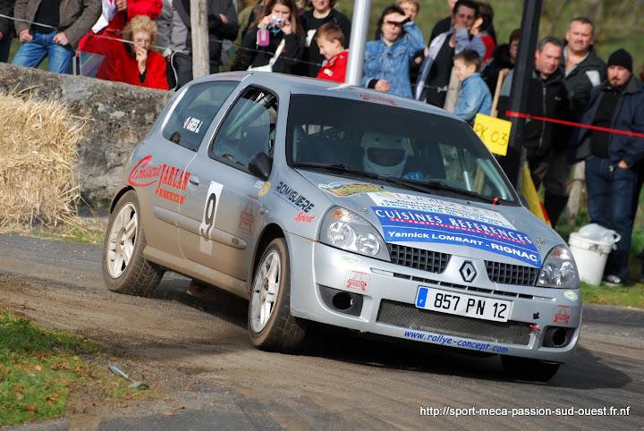 Alexis MURAT / Johan GRES - Clio RS F214 Rallye%20du%20Cantal%202010%20242