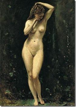 La fuente - Jean-Baptiste-Camille Corot